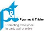 Pyramus & Thisbe Club logo